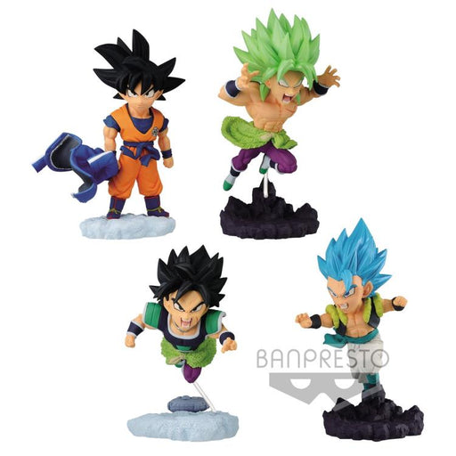 Banpresto: Dragon Ball Super: Broly World Collectable Diorama Vol. 4 Set of 4 Figures