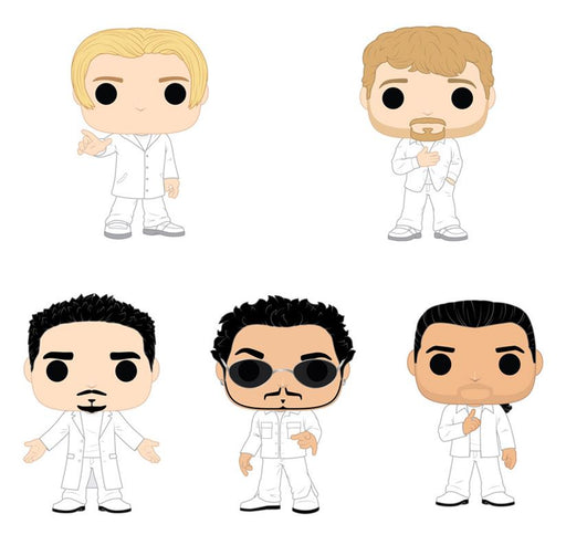 [PRE-ORDER] Funko POP! Rocks: Backstreet Boys - Complete Set of 5