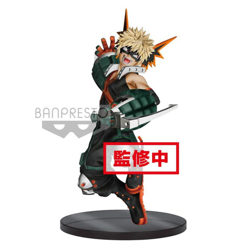Banpresto: My Hero Academia The Amazing Heroes Vol. 3 - Katsuki Bakugo Figure