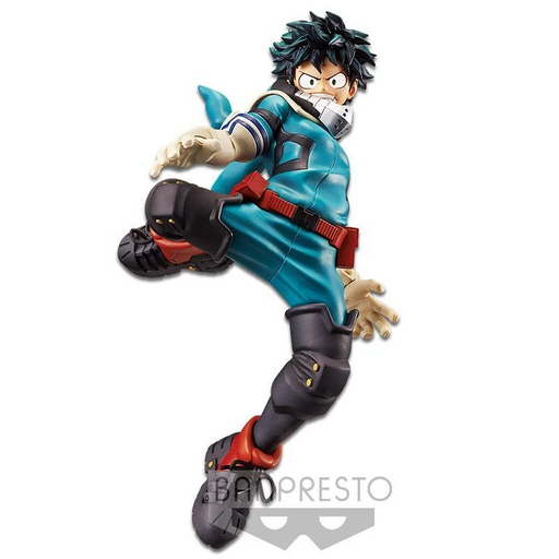 Banpresto: My Hero Academia King of Artist - Izuku Midoriya Figure
