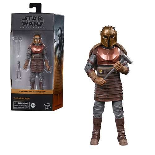 Star Wars: The Black Series - The Armorer (The Mandalorian) 6-Inch Action Figure
