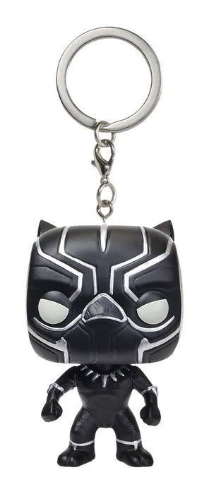 Funko POP! Keychain: Captain America 3: Civil War - Black Panther Pocket Keychain