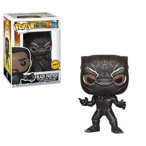 Funko POP! Marvel Black Panther - Black Panther Chase Vinyl Figure #273