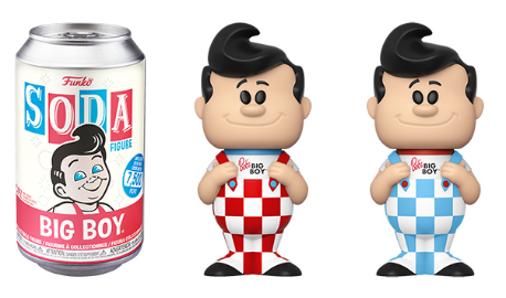 Funko Vinyl SODA: Ad Icon - Bob's Big Boy Vinyl Figure