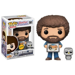 Funko POP! Bob Ross - Bob Ross with Raccoon Pop! Chase Vinyl Figure #558
