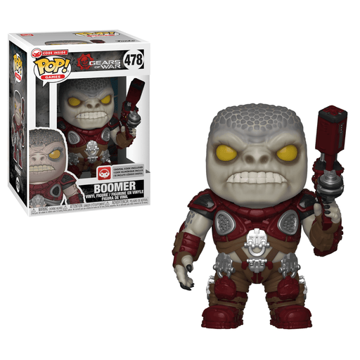 Funko POP! Gears of War - Boomer Vinyl Figure #478