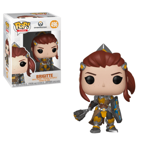 Funko POP! Overwatch: Season 5 - Brigitte Vinyl Figure #496