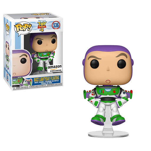 Funko POP! Toy Story 4 - Buzz Lightyear (Floating) Vinyl Figure #536 Amazon Exclusive (NOT 100% MINT)