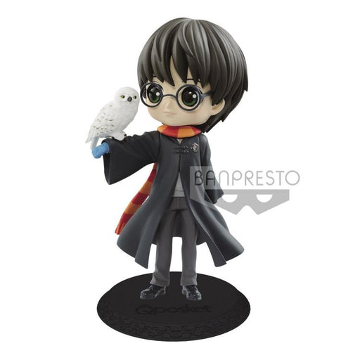 Banpresto Q Posket: Harry Potter - Harry Potter with Hedwig (B. Light Color)