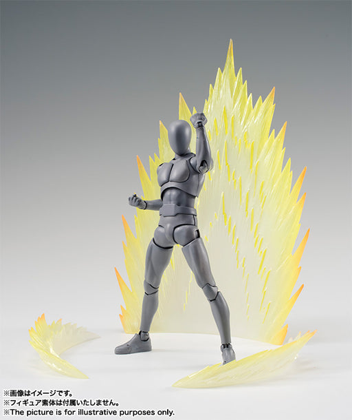 Tamashii Nations Effect Energy Aura Yellow