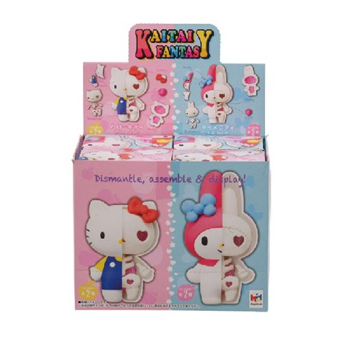 Megahouse: Kaitai Fantasy Puzzle Mascot - Hello Kitty & My Melody Box Set