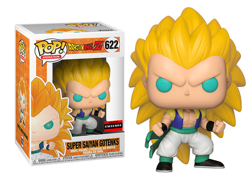 Funko POP! Dragon Ball Z - Super Saiyan 3 Gotenks Vinyl Figure #622 AAA Anime Exclusive (NOT 100% MINT)