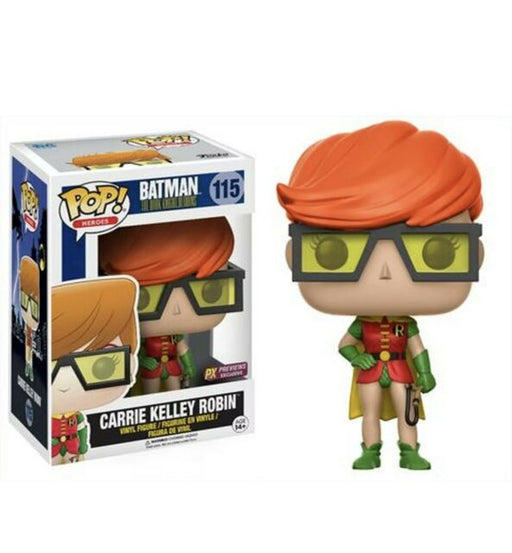 Funko POP! Batman The Dark Knight Returns - Carrie Kelley Robin Vinyl Figure #115 Preview Exclusives (PX) [READ DESCRIPTION]