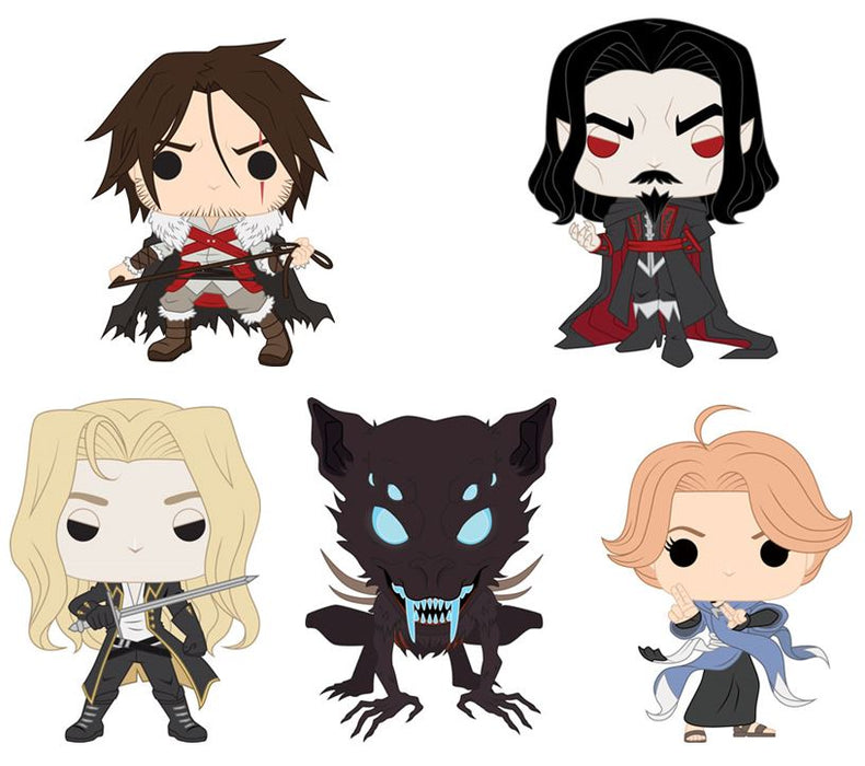 Funko POP! Castlevania - Complete Set of 5