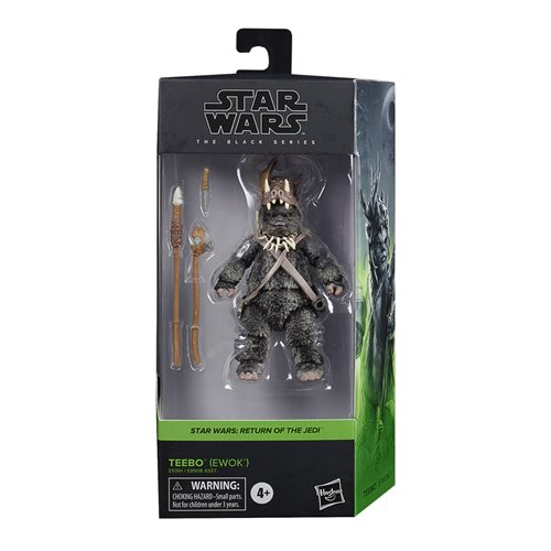 Star Wars: The Black Series - Teebo (Ewok) (Return Of The Jedi) 6-Inch Action Figure