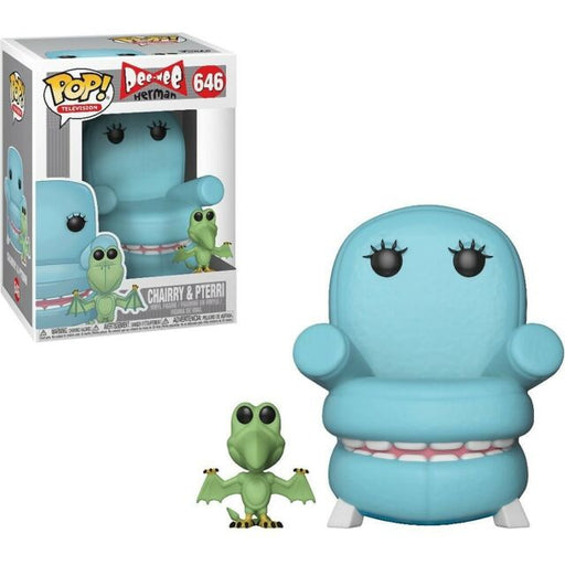 Funko POP! Pee Wee's Playhouse - Chairry and Pterri Vinyl Figure #646