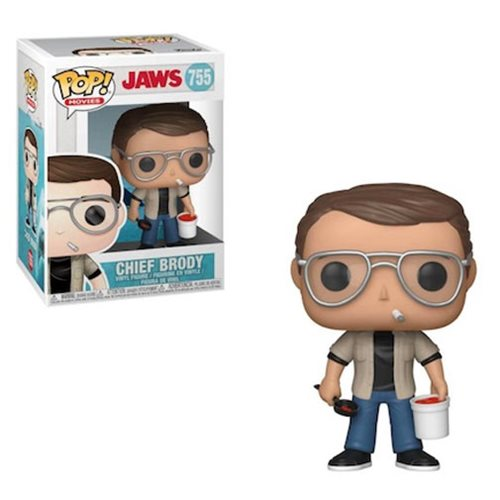 Funko POP! Jaws - Chief Martin Brody Vinyl Figure #755