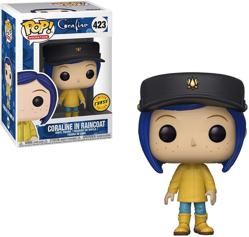 Funko POP! Coraline - Coraline in Raincoat Chase Vinyl Figure #423