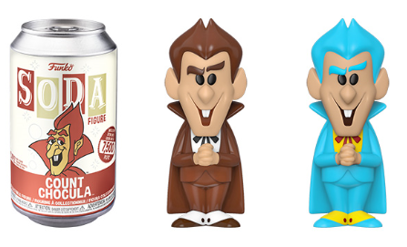 Funko Vinyl SODA: Ad Icon - Count Chocula Vinyl Figure