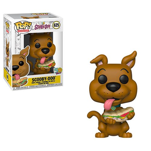 Funko POP! Scooby Doo - Scooby-Doo with Sandwich Vinyl Figure #625