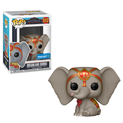 Funko POP! Dumbo - Dreamland Dumbo (Red) Vinyl Figure #512 Walmart Exclusive (NOT 100% MINT)