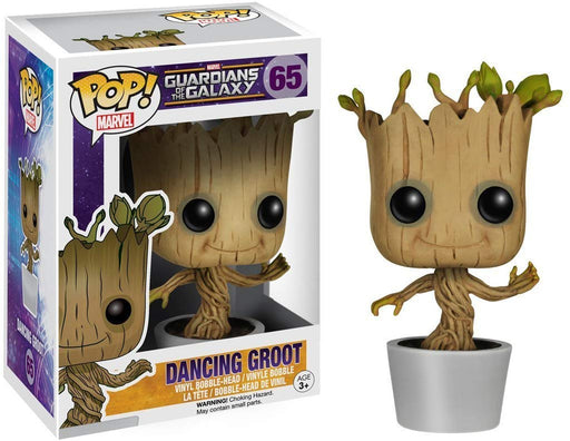 Funko POP! Guardians of the Galaxy - Dancing Groot Vinyl Figure #65