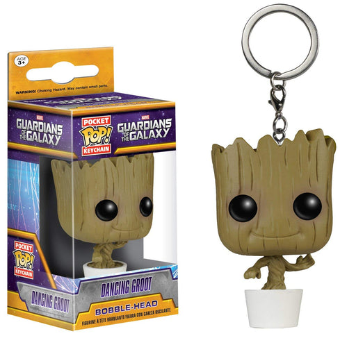 Funko POP! Keychain: Guardians of the Galaxy - Dancing Groot Pocket Keychain