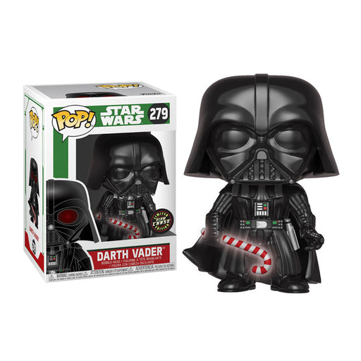 Funko POP! Star Wars: Holiday - Darth Vader Chase Vinyl Figure #279