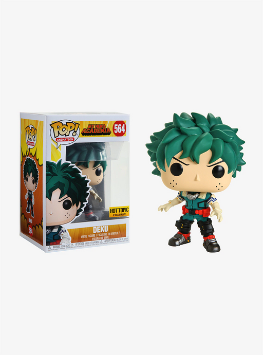 Funko POP! My Hero Academia - Deku Vinyl Figure #564 Hot Topic Exclusive (NOT 100% MINT)