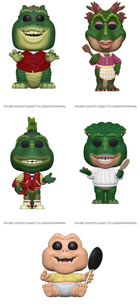 [PRE-ORDER] Funko POP! Dinosaurs - Set of 5
