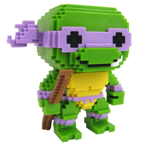 Funko POP! Teenage Mutant Ninja Turtles - Donatello 8-Bit Vinyl Figure #05
