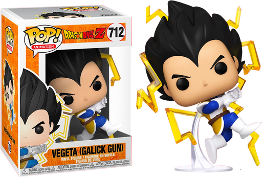 Funko POP! Dragon Ball Z - Vegeta (Galick Gun) Common Vinyl Figure #712 Chalice Exclusive [READ DESCRIPTION]