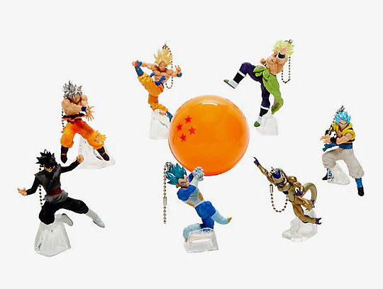 Dragon Ball Super Series 2 - Blind Capsule Figural Keychain
