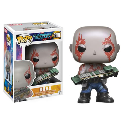 Funko POP! Guardians of the Galaxy Vol. 2 - Drax Vinyl Figure #200