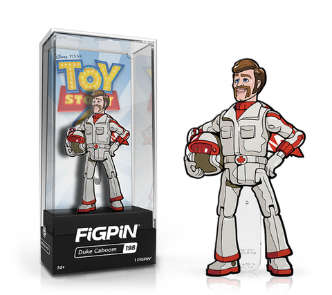 [PRE-ORDER] FiGPiN: Toy Story 4 - Duke Caboom #198