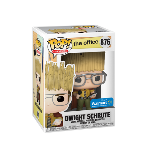 Funko POP! The Office - Dwight Schrute as Hay King Vinyl Figure #876 Walmart Exclusive (NOT 100% MINT)
