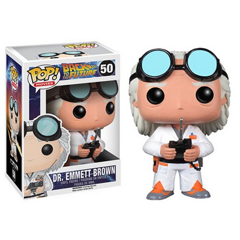 Funko POP! Back to the Future - Dr Emmett Brown Vinyl Figure #50