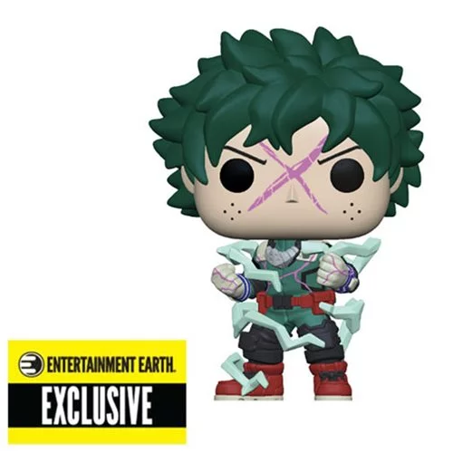 Funko POP! My Hero Academia - Full Cowl Deku (Glow in the Dark) #596 - Entertainment Earth Exclusive (NOT 100% MINT)