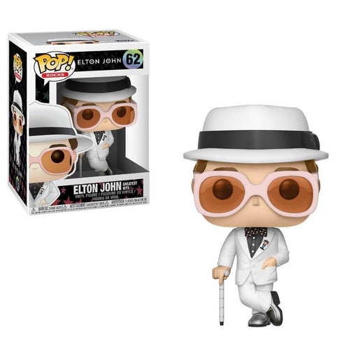 Funko POP! Rocks - Elton John (Greatest Hits) Vinyl Figure #62