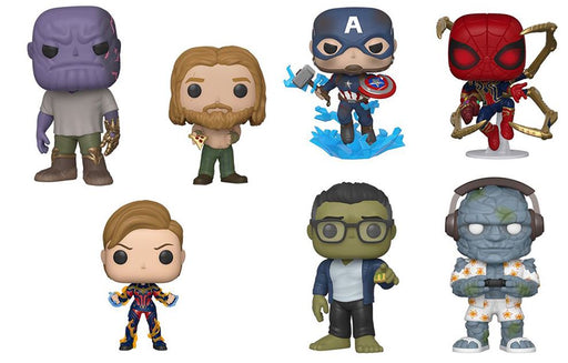 [PRE-ORDER] Funko POP! Avengers: Endgame - Set of 7