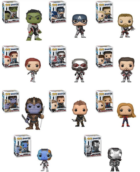 Funko POP! Avengers: Endgame - Complete Set of 11