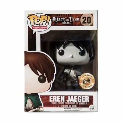 Funko POP! Attack on Titan - Eren Jaeger (Black and White) Vinyl Figure #20 Bait Exclusive [READ DESCRIPTION]