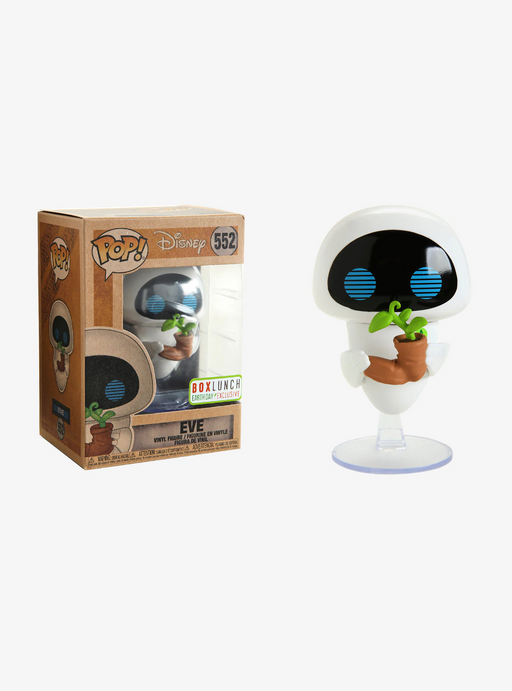 Funko POP! WALL-E - Earth Day Eve Vinyl Figure #552 Box Lunch Exclusive (NOT 100% MINT)