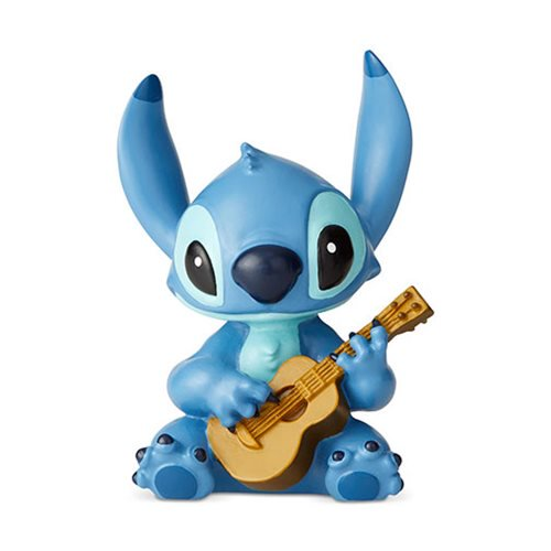 Disney Showcase: Lilo & Stitch - Stitch with Guitar Mini Figurine