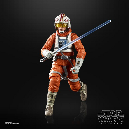 Star Wars: The Black Series - Luke Skywalker (Snowspeeder) (The Empire Strike Back) 6-Inch Action Figure