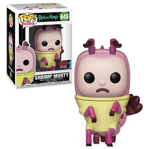 Funko POP! Rick and Morty - Shrimp Morty Vinyl Figure #645 Fall Convention Exclusive [READ DESCRIPTION]