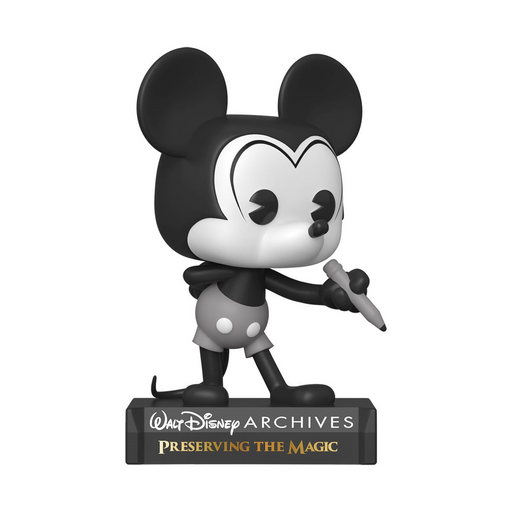 [PRE-ORDER] Funko POP! Disney: Archives - Plane Crazy Mickey Mouse (Black and White) Vinyl Figure #797