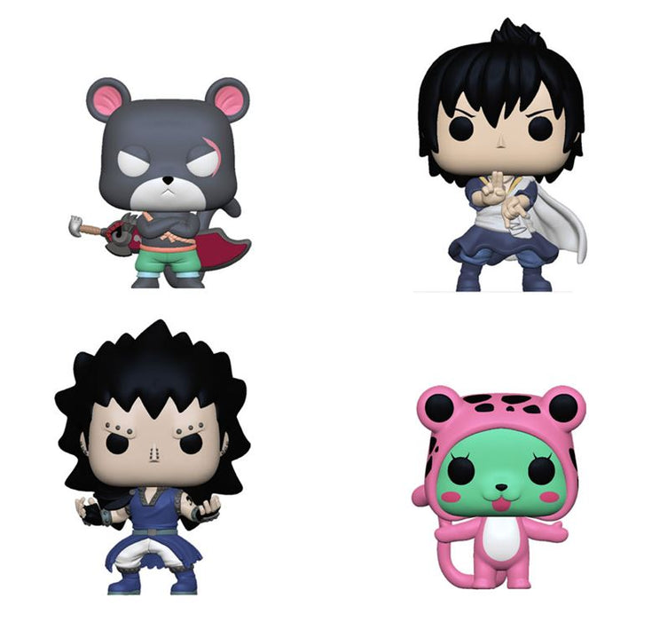 Funko POP! Fairy Tail - Complete Set of 4