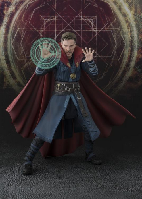 Tamashii Nations S.H. Figuarts: Doctor Strange - Doctor Strange & Burning Flame Set