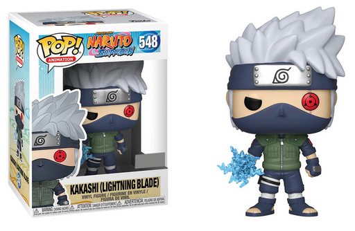 Funko POP! Naruto Shippuden - Kakashi (Lightning Blade) Vinyl Figure #548 Hot Topic Exclusive (NOT 100% MINT)